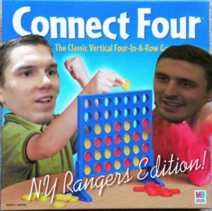 Alexandar Georgiev, Chris Kreider, New York Rangers