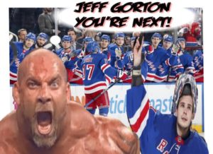 NY Rangers, Igor, Bill Goldberg, You're Next