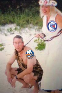 Rangers Islanders Tiger King